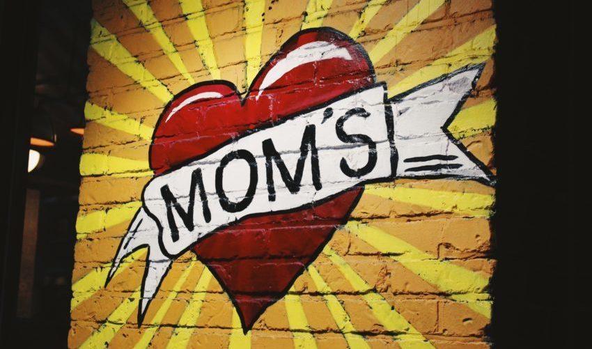 Moeder tatoo tekening van hart